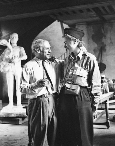 Lee Miller and Picasso - 1944