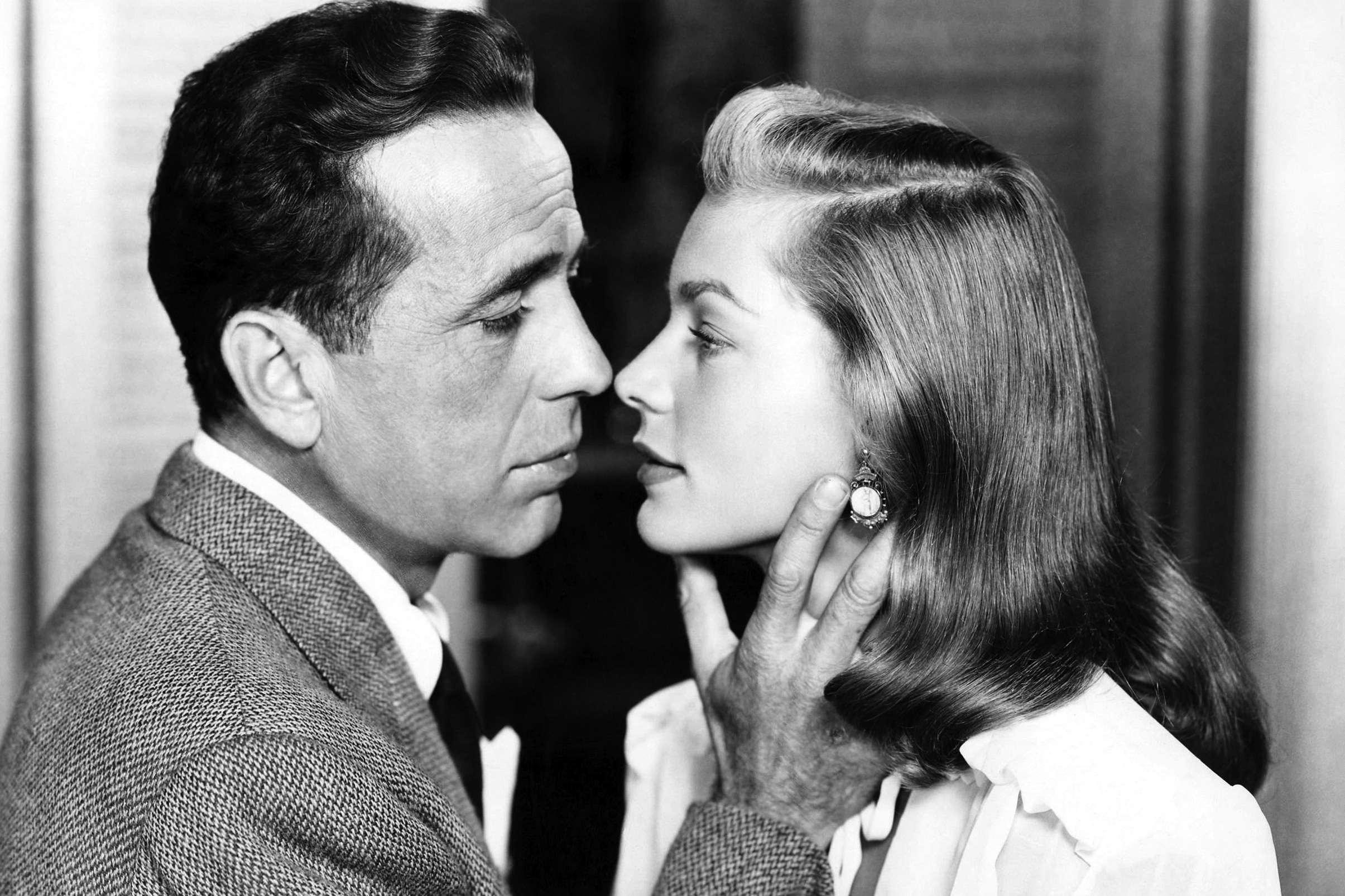 "Humphrey Bogart and Lauren Bacall for ""Dark Passage"" directed by ... Humphrey"