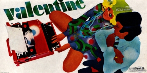 1969-Advertising-Poster-Olivetti-Valentine