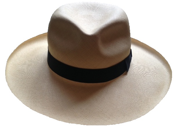 "7f68838f My late friend Myles' ""Super Fino"" Panama hat"